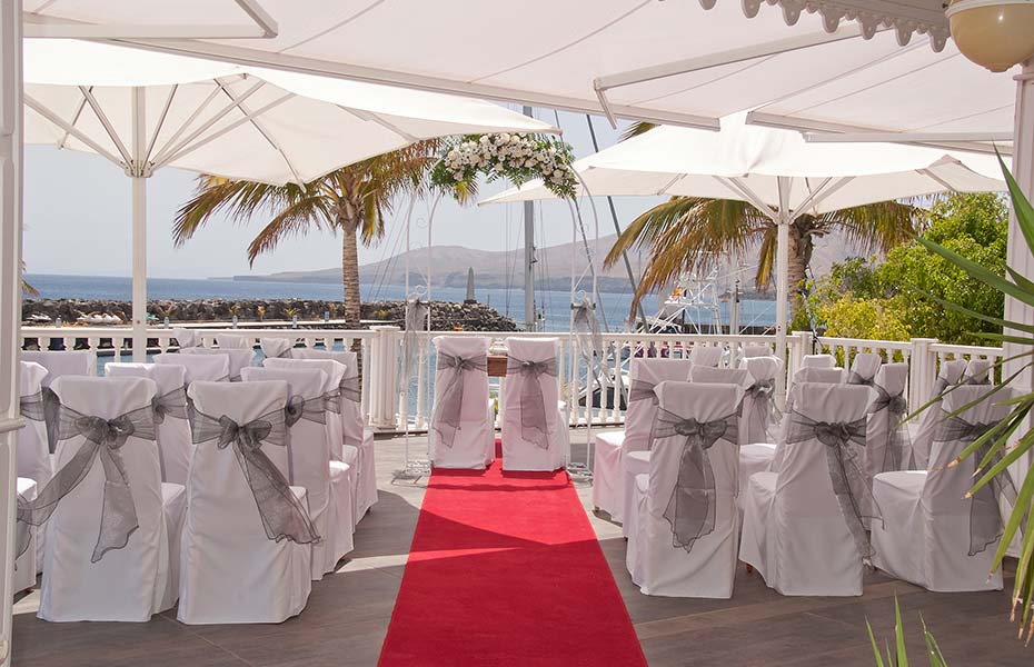 married in the Canary Islands